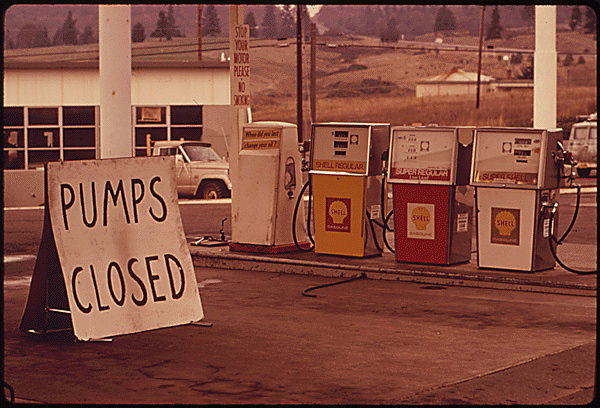 Pumps closed on Interstate 5 in Oregon (Environmental Protection Agency)